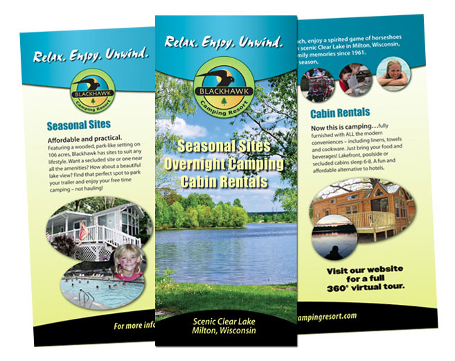 Campground Brochure Design