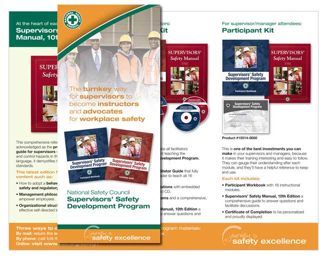 National Safety Council brochure design