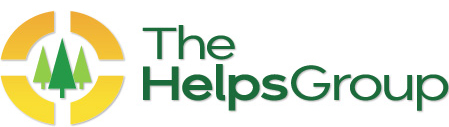 Image of logo design created for The Helps Group
