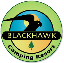 new logo design for Blackhawk Campground