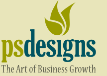 PS Designs The Art of Business Growth logo