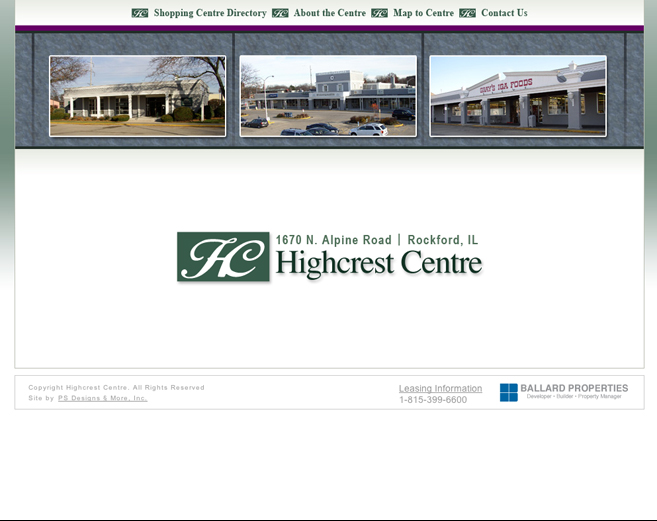 Highcrest Centre Website